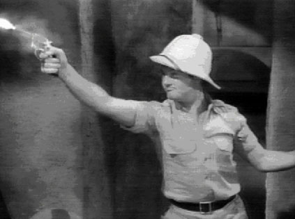 "George Reeves in ""Jungle Jim"""