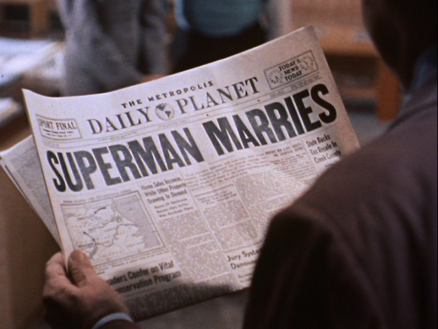 Superman Marries
