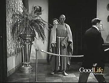 "Phyllis Coates in scene from ""Mystery In Wax"""