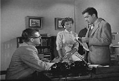 Lois, Clark, and Jimmy prepare a trap for Burt Burnside.